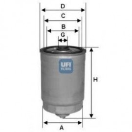 filter goriva UFI 24.128.00