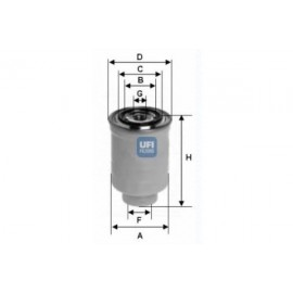 filter goriva UFI 24.374.00