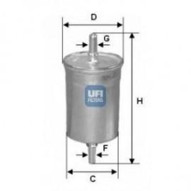 filter goriva UFI 31.840.00